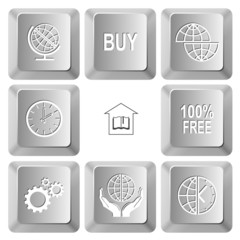 buy, shift globe, clock, library, 100% free, gears, protection w