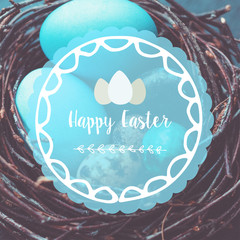Easter poster card