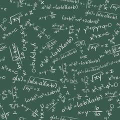 formula math seamless pattern
