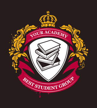 Academy Emblem Vector
