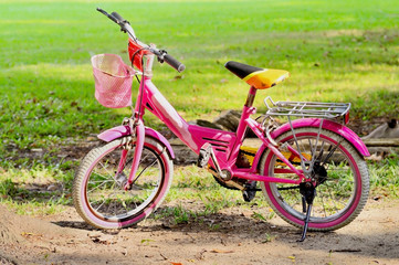 bike for kid on ground.