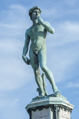 Fototapete - Statue of David by Michelangelo in Florence, Italy
