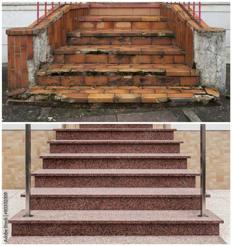 Bilder und videos suchen: treppenbau