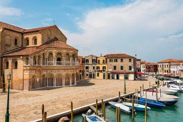 Venise Murano Place Campo San Donato Eglise Chiesa dei Santi Maria Sainte Marie