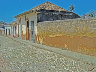Straße in Trinidad auf Kuba