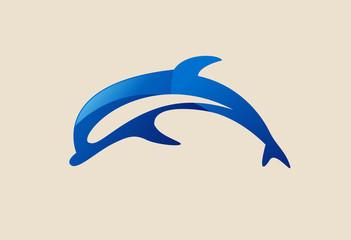 Dolphine logo vector