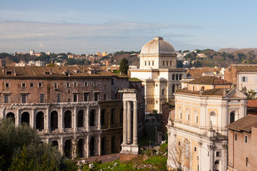 Roma Sinagoga Teatro Marcello