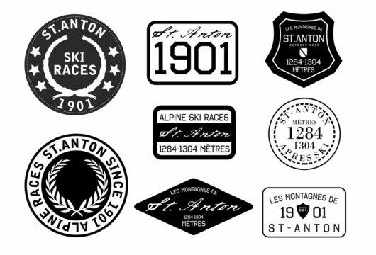 ski badge
