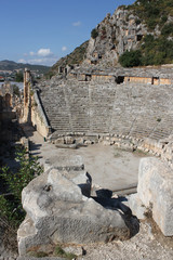 Old amphitheater in Turkey