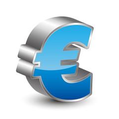 Euro 3d Icon