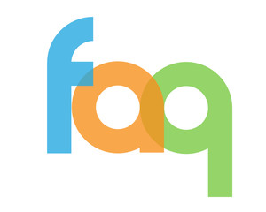 """FAQ"" icon (help information customer service questions)"