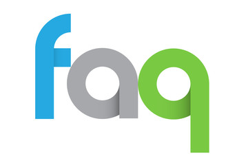"""FAQ"" icon (help information customer service questions)"