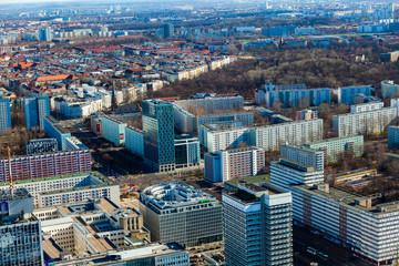 Berlin Skyline City Panorama. Berlin, Germany, Europe.