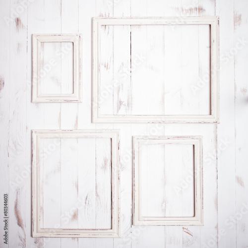 Shabby chic frames\
