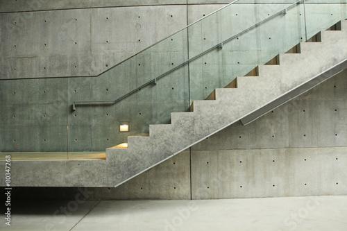treppe aus beton photo libre de droits sur la banque d 39 images image 80347268. Black Bedroom Furniture Sets. Home Design Ideas