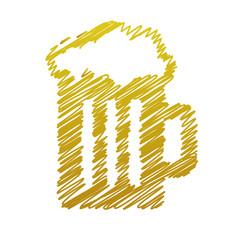 handwriting beer picture