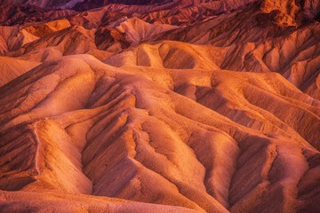 Wall Mural - Geology of Death Valley