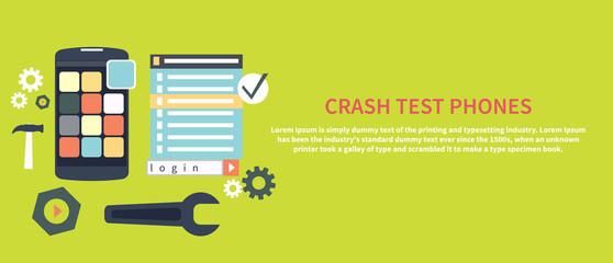Crash test phones