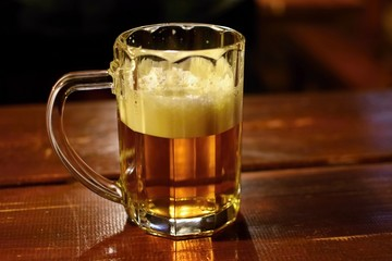 Draft beer by the glass. Honest Czech lager.
