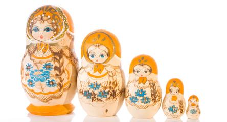 Matryoshka souvenir dolls set