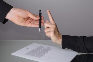 Vertrag Stiftübergabe Vorsicht