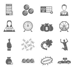 Lottery Icon Set