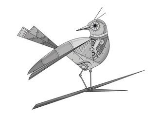 künstlicher Vogel