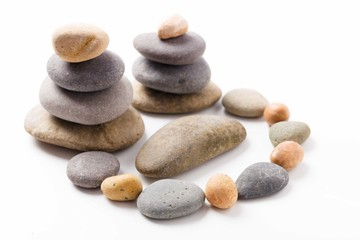 composition of the stones pebbles
