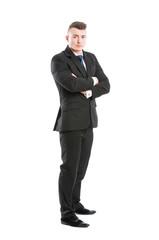 Business man full body standing