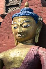 Buddha statue. Kathmandu, Nepal