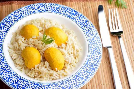 Rice with Brazilian Pequi