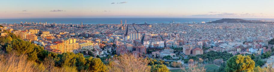 Panorama of Barcelona
