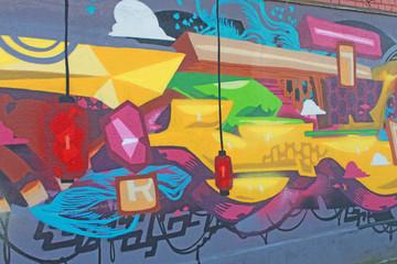 Foto op Plexiglas Art Studio Graffitis, Bagnolet