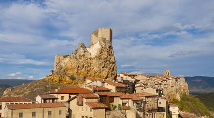 City Castle Frias, Burgos, Spain.
