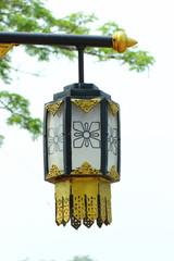 Lighting folk crafts of Thailand.