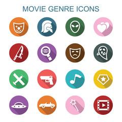 movie genre long shadow icons