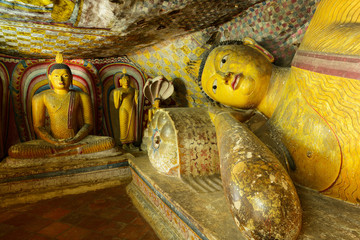 Golden Temple of Dambulla, Sri Lanka