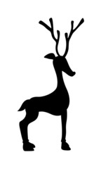 Small Reindeer Shape