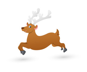 Vixen Running Reindeer