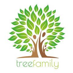 Tree family logo