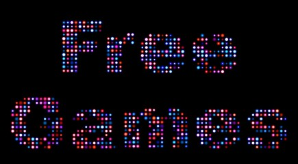 Free games led sign
