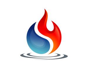 Yin Yang of Fire and Water