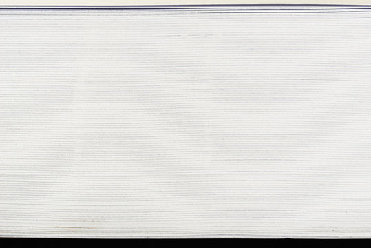 side view of stack papers