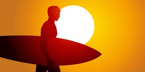 SURFEUR - Soleil Couchant