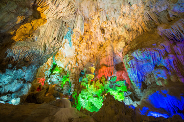 TienKung Cave at Halong Bay, Viet Nam