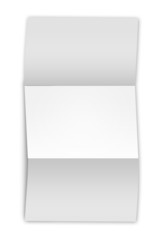 Empty sheet of paper (letter or writing)