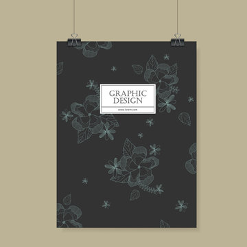 graceful poster template design