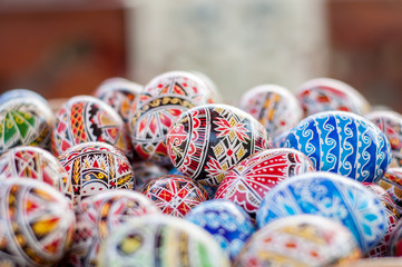 Aluminium Prints Eastern Europe Easter eggs