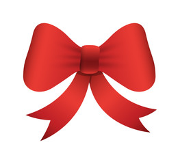 Gift Bow Vector Element