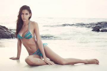 Bikini fashion on beach